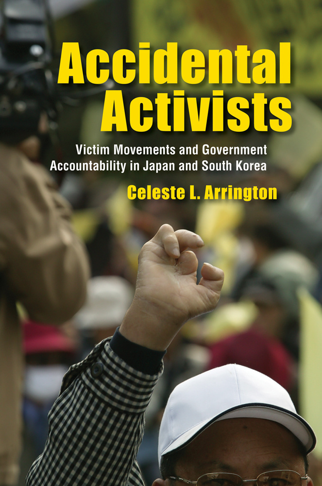 Cover of Accidental Activists by Celeste Arrington, published in 2016